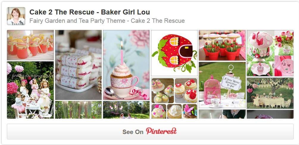 fairy garden and tea party pinterest