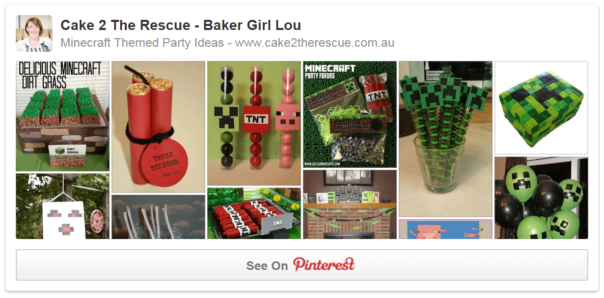 minecraft pinterest board